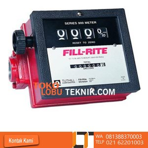 Jual flowmeter solar flo rite series murah dan terlengkap FLOW RITE Series 999L Model : 999L Size : 11/2 inch Flow Rate : 23 - 151 L/min Accuraty : ± 2 % Totalizer : 99999966 L Max Operating Presure : 50 PSI Max Operating Temperature : 60 °C