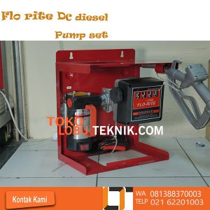 TRANSFER PUMP FLO RITE DC DIESEL PUMP SET Model : FR-2440 DC/K Pump rate :10/40 ( GPM/LPM ) Voltage : 24 V Model of Pump : FR-2440C Meter : 800L Model of Nozzel : Manual * Cast iron pump body finished with anti corrosion paint. * Vane pump with sintered steel rotor and acetal resin vanes. * BY-Pass valve incorporated in the pump body. * Direct current brush motor with permanent stator. * Motor protection grade IP55. * Used in intermittent service with 30-minute work cyles. INFO : TOKO LOBU TEKNIK Jln:Hayam Wuruk NO.127 Ltc.Glodok Lt.2 Blok A2 No.10 Tlpn:021 62201286 / 6220 1003 Wa : 0813 8837 0003