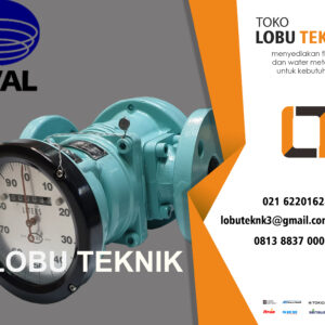 Oval Type LB564-111-B117-000/Flowmeter Solar
