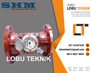 Flow meter limbah